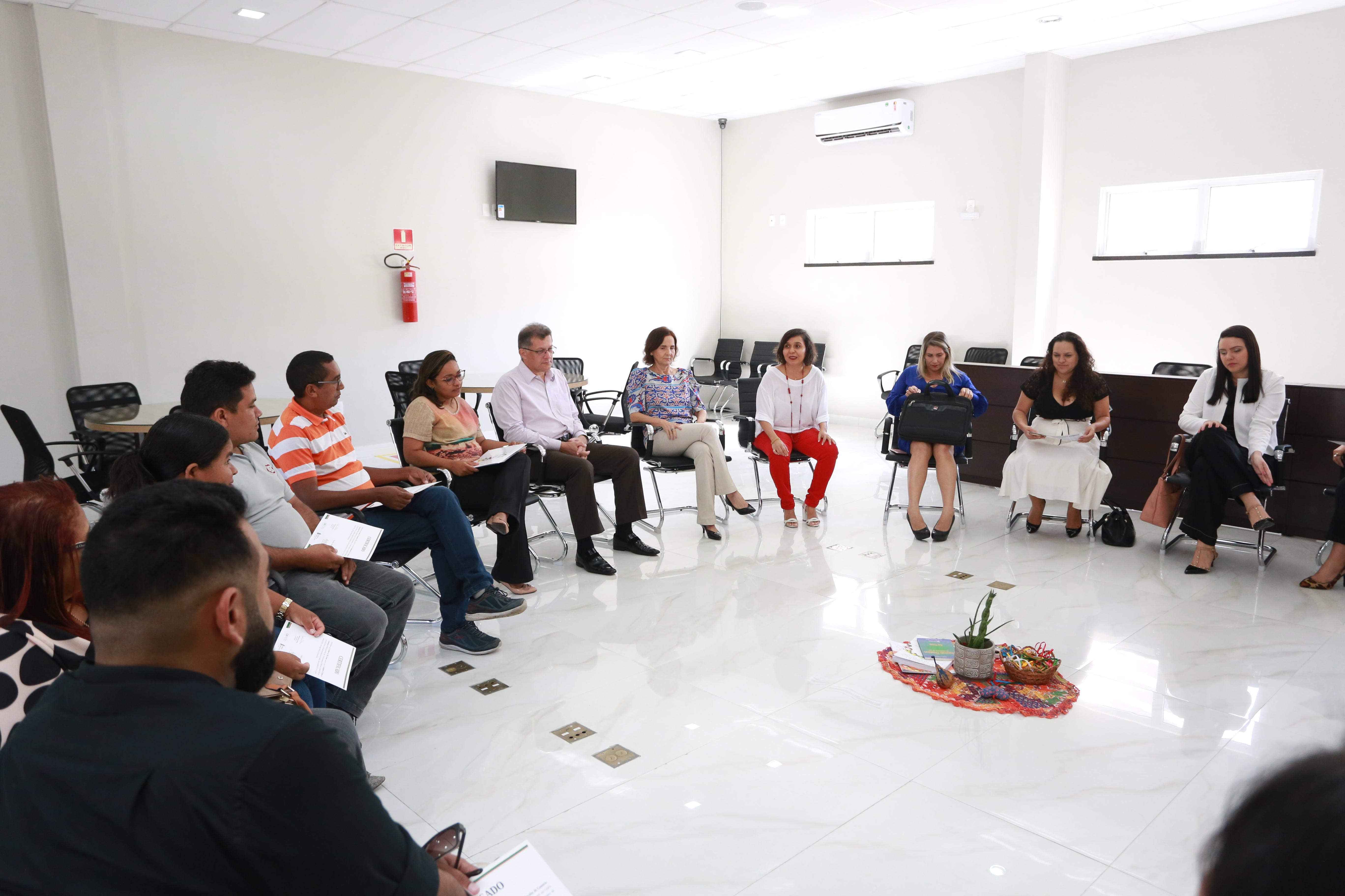 Coordenação de Mediação da Vice-Governadoria forma novos facilitadores de Círculos de Construção de Paz