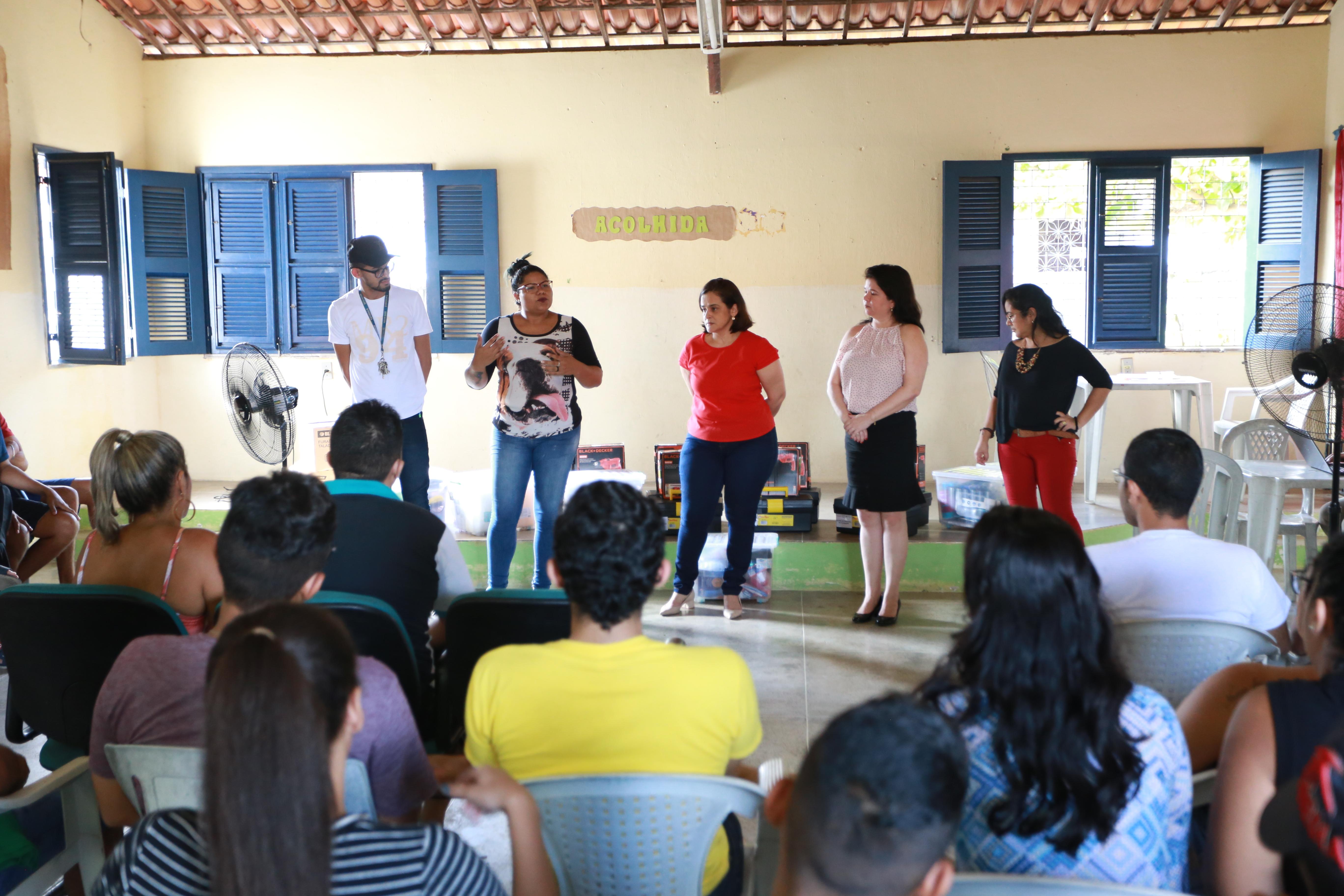 Criando Oportunidades gera 440 vagas para formação profissional em Território do Pacto por um Ceará Pacífico