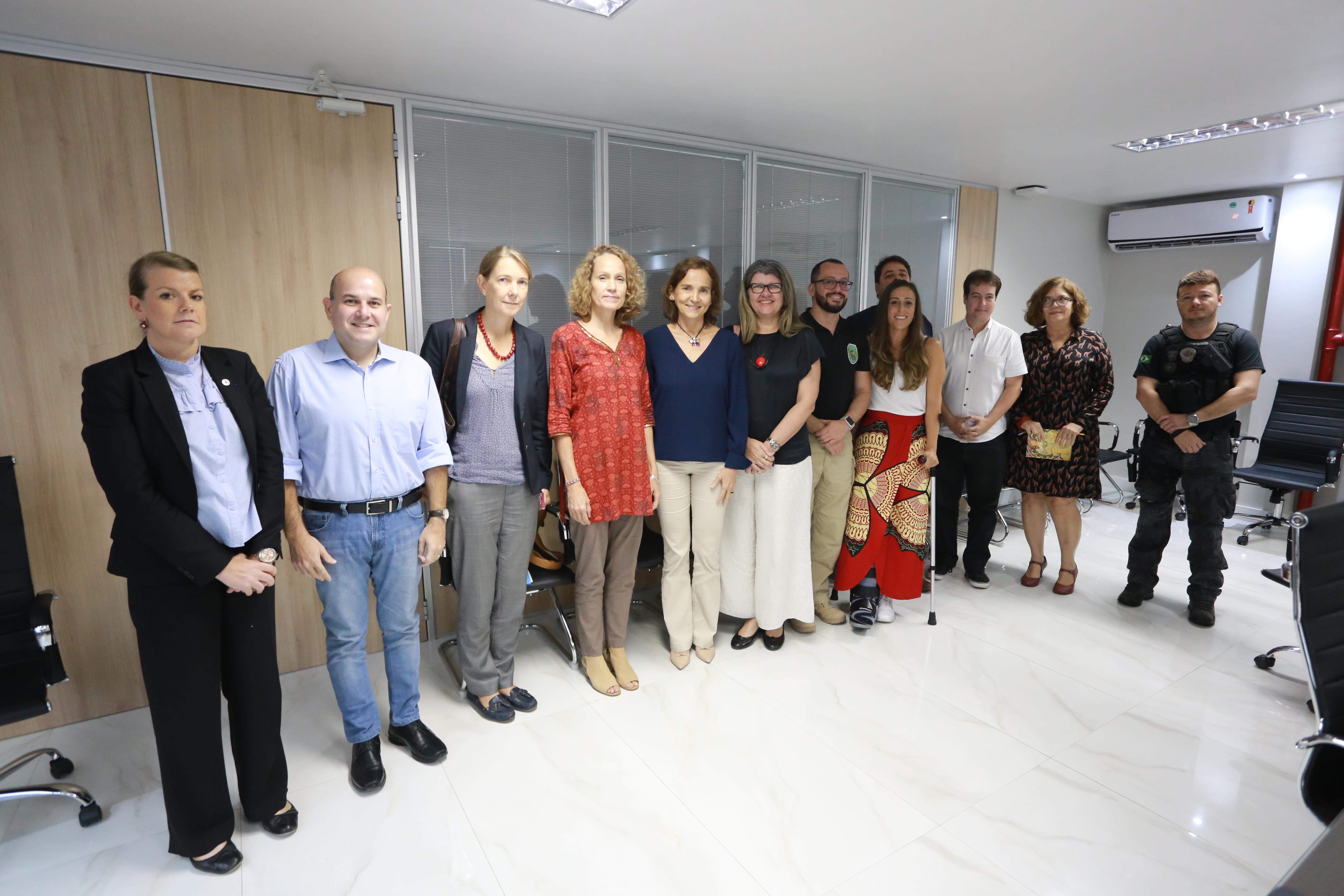 Governo do Ceará e Prefeitura de Fortaleza reforçam parcerias com o Comitê Internacional da Cruz Vermelha