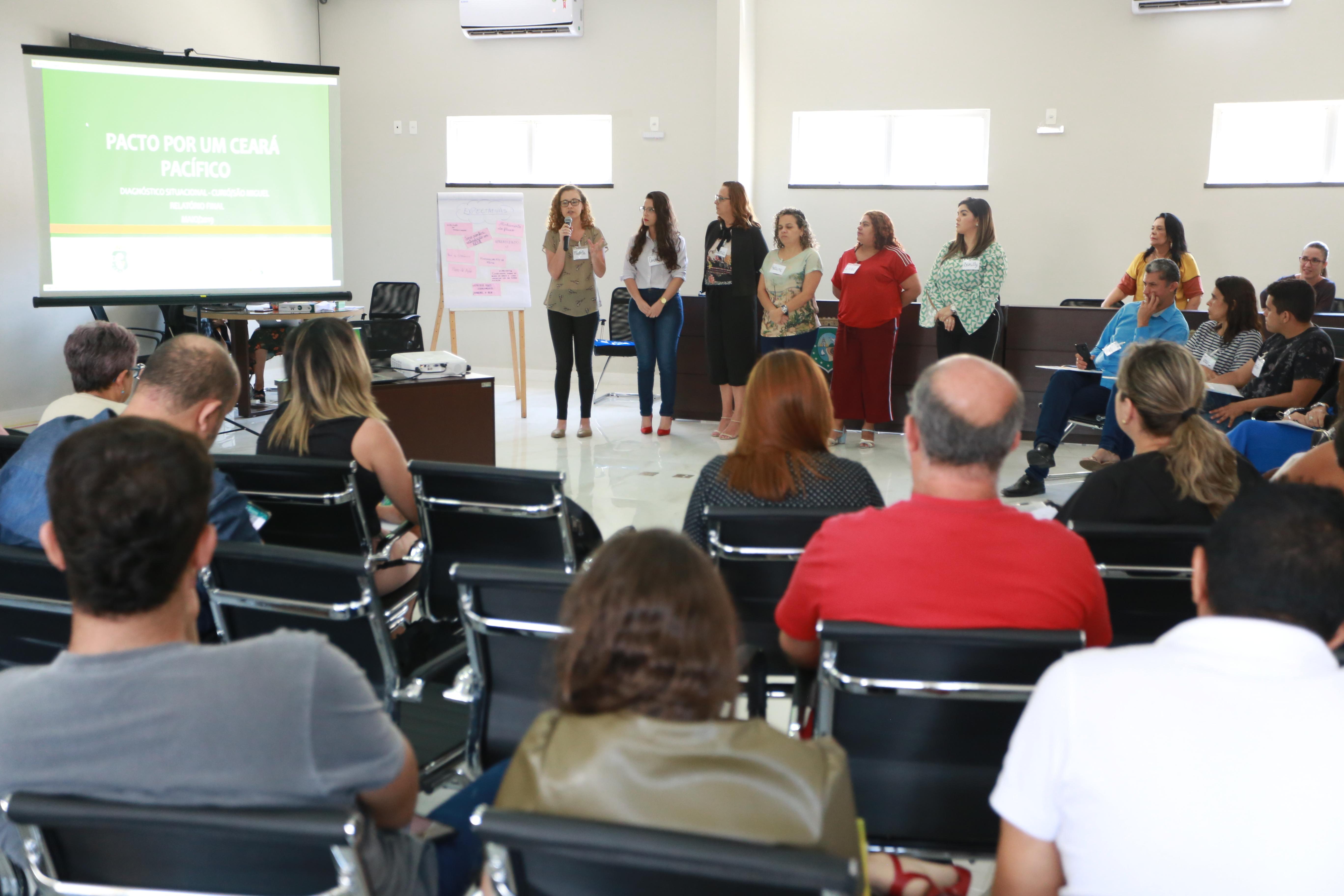 Ceará Pacífico: Vice-Governadoria realiza ciclo de capacitação para profissionais da rede de proteção