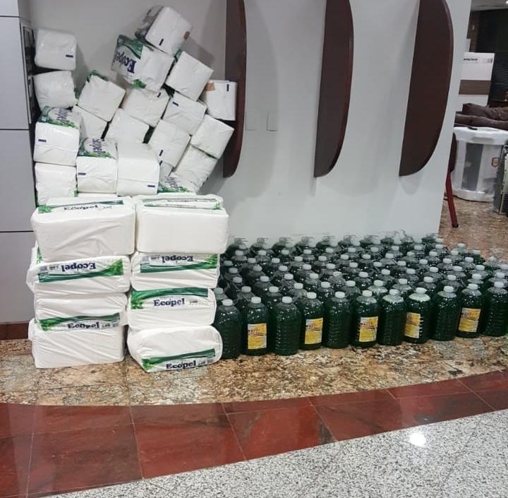 Governo do Ceará: secretarias estaduais fornecem insumos para Saúde no combate à covid-19