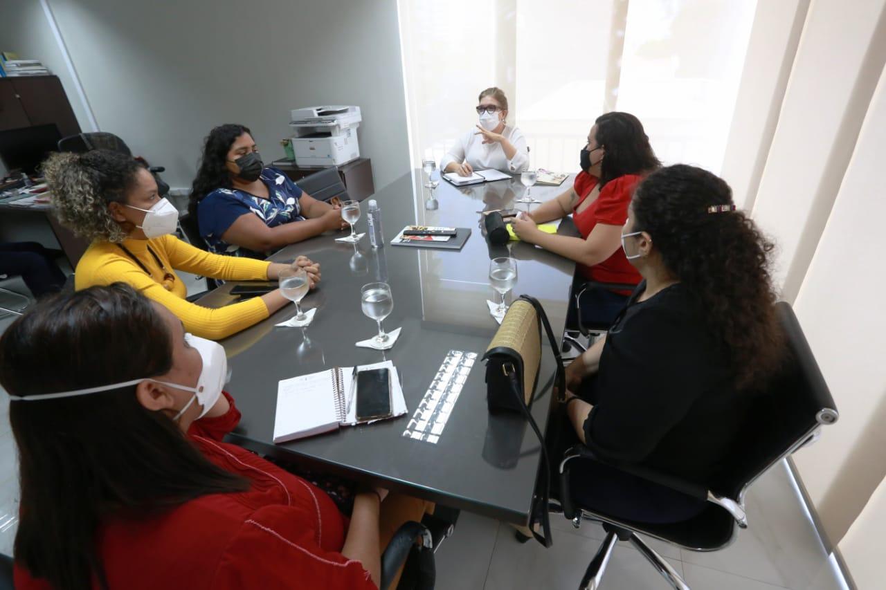 Vice-Governadoria realiza reunião com integrantes do mandato coletivo Nossa Cara