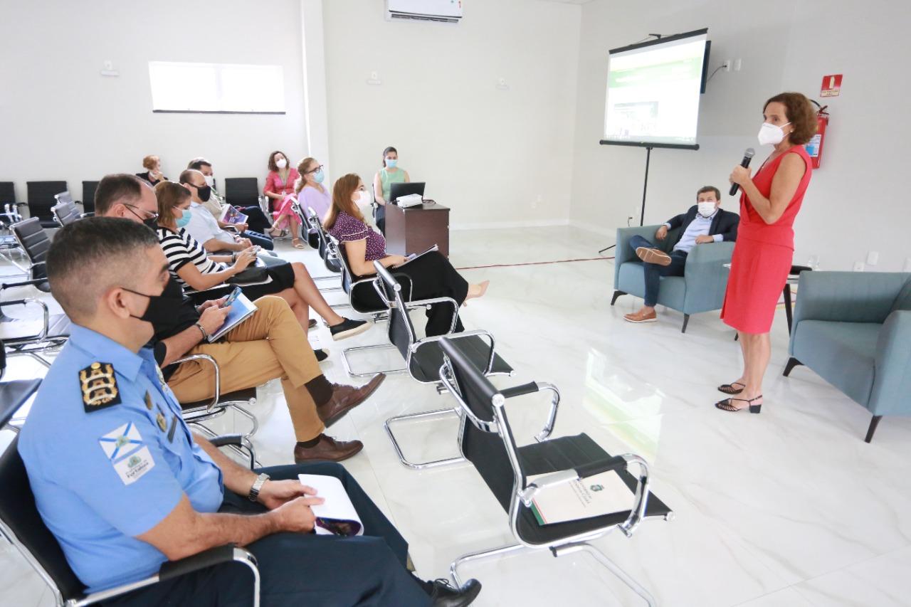 Vice-Governadoria do Ceará recebe Prefeitura de Fortaleza e apresenta PReVio